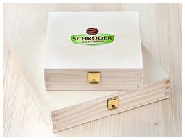 Confiserie Schröder - Holzschachteln geschlossen